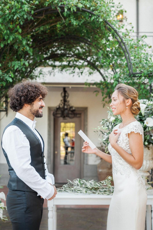 Итальянская элегантность: свадьба для двоих в Риме
