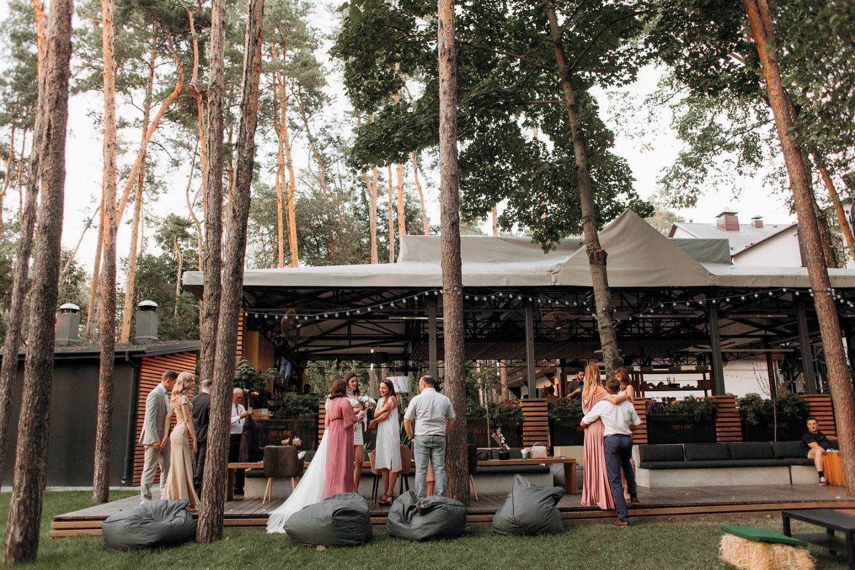 В гармонии с природой: свадьба в лесу