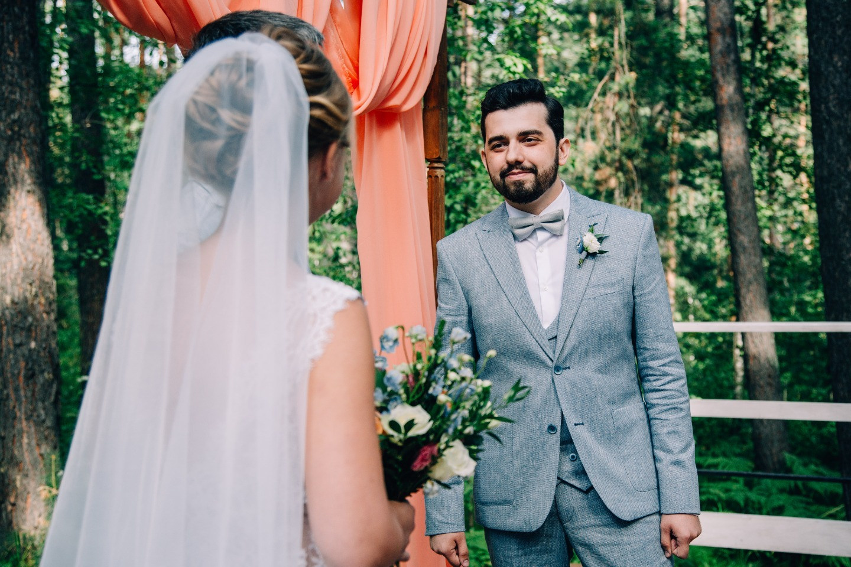 Романтика и хенд-мейд на летней загородной свадьбе
