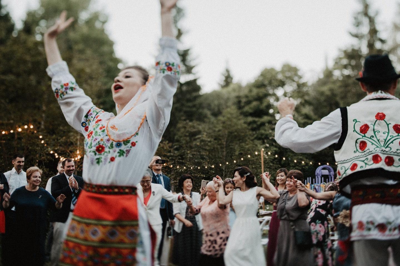 Back in the USSR: большая свадьба на природе