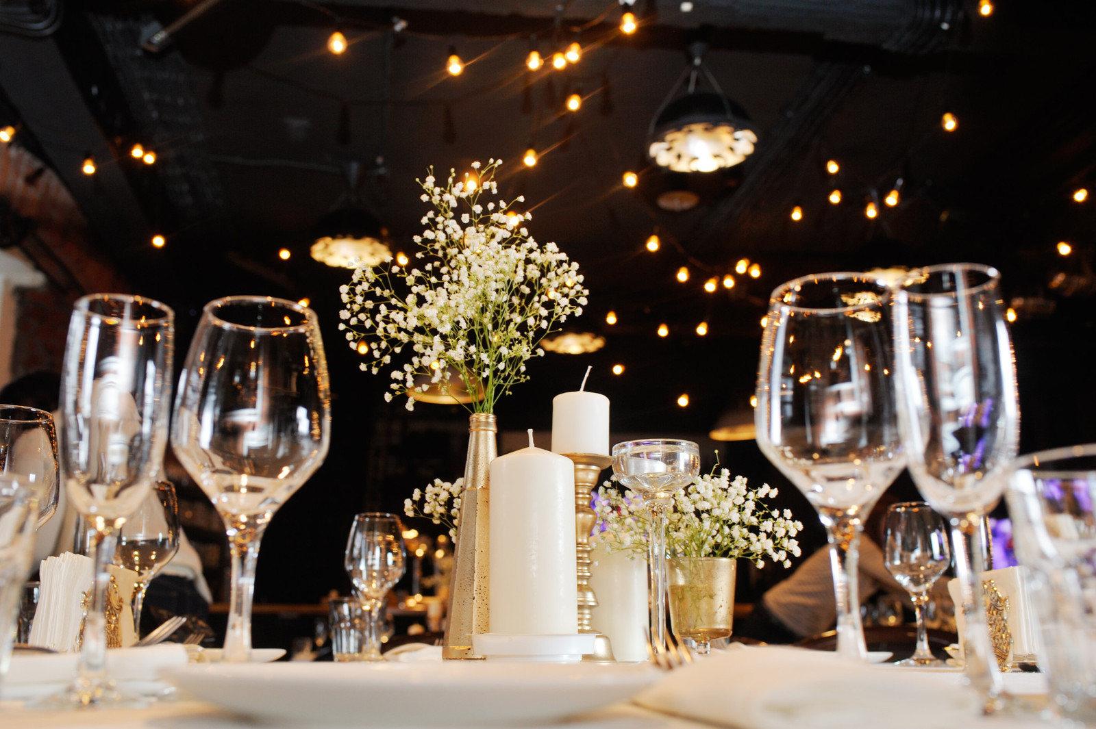 Свадьба в стиле лофт в «Бумага-Бар»