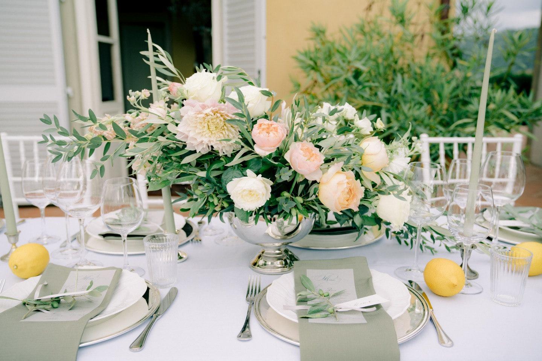 Итальянская нежность: камерная свадьба на вилле в Тоскане