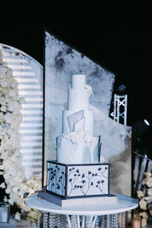 Black&White Wedding: классика с элементами геометрии