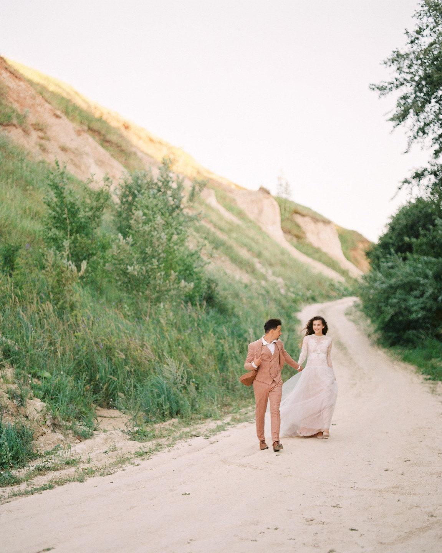 Вселенная любви: стилизованная свадьба для двоих