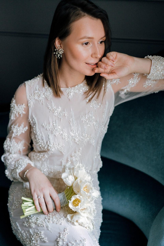 Shine of pearls: стилизованная фотосессия