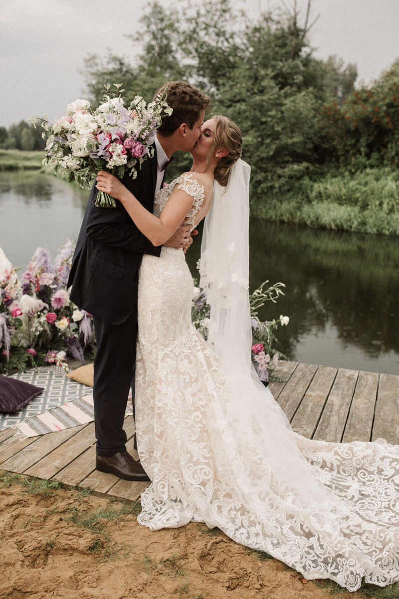Восток и Запад: европейская свадьба с восточными нотками