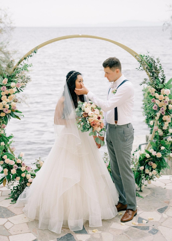 Романтика и нежность: свадьба в Хорватии