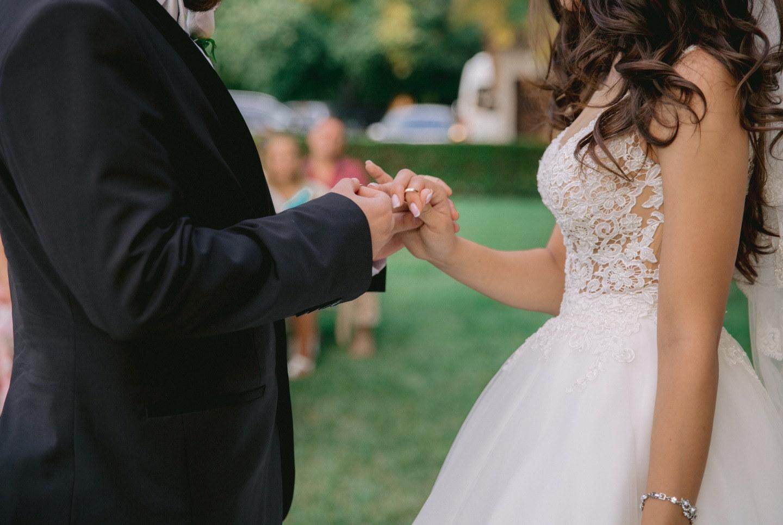 Нежная классика: свадьба в Болгарии