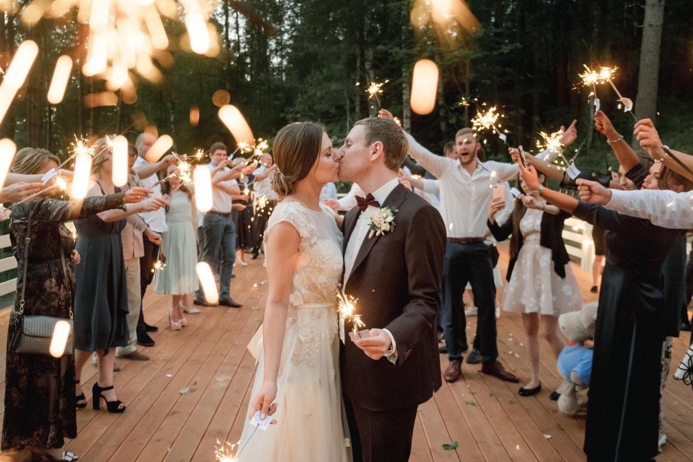 Натуральная красота: рустикальная свадьба на природе