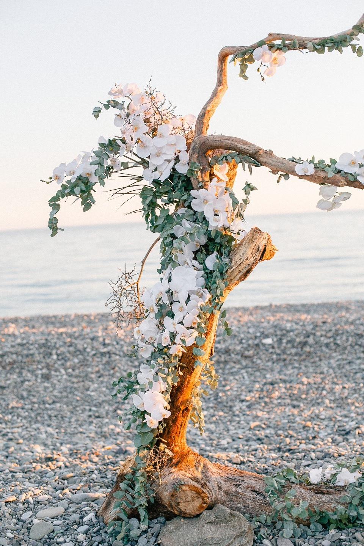 Под шум прибоя: свадьба на берегу Черного моря
