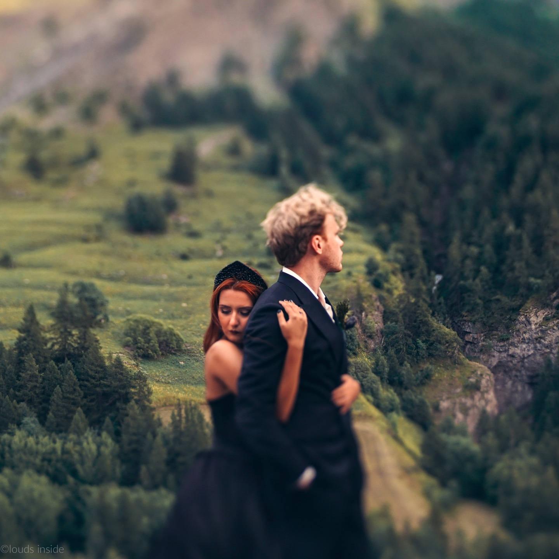 Грозовой Перевал: свадебная love-story в горах