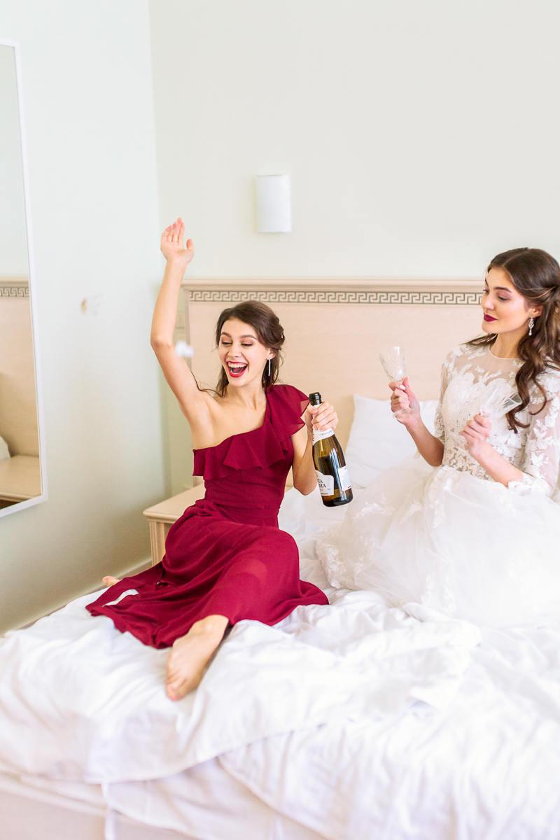 Happy morning: стилизованная фотосессия утра невесты