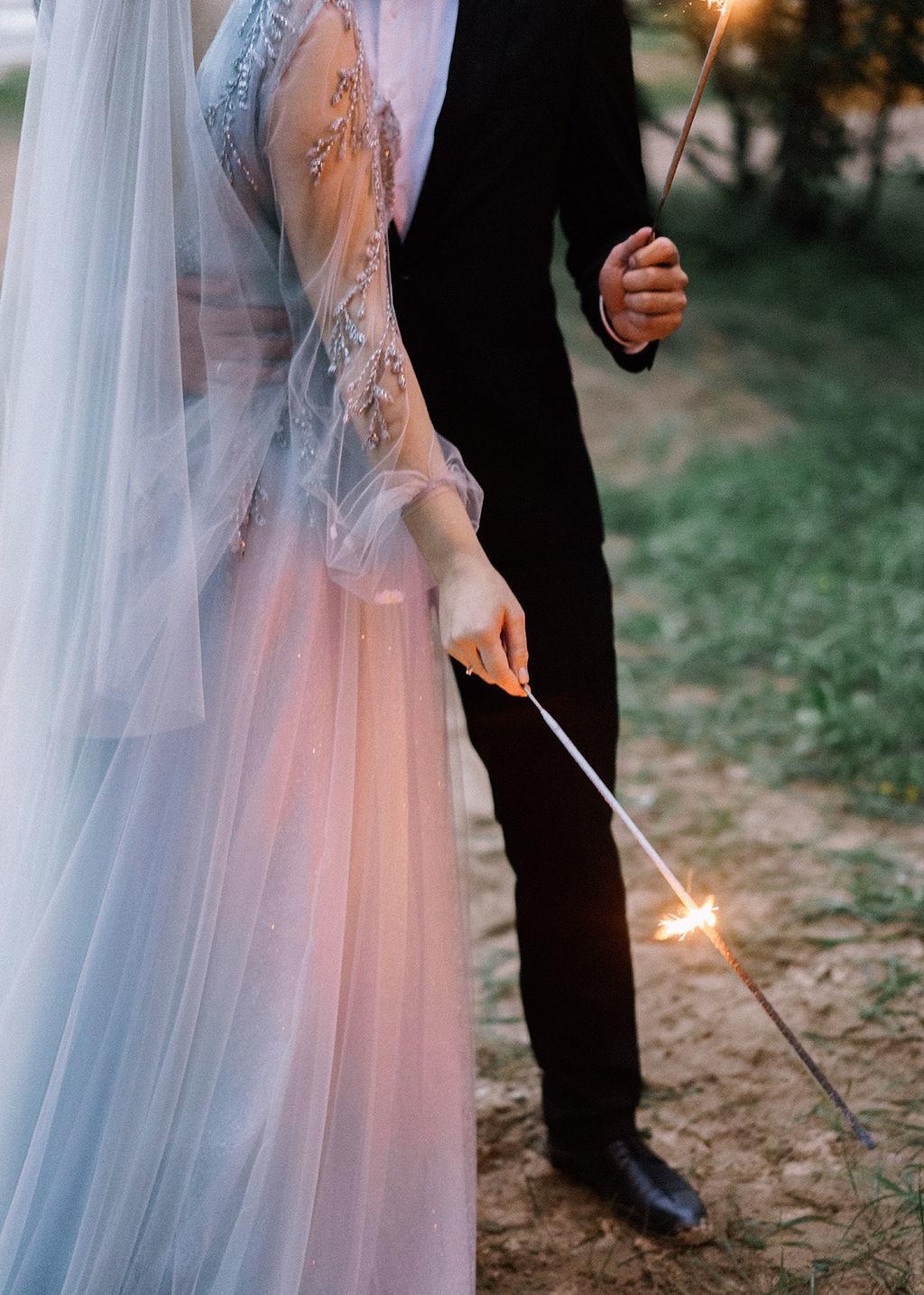 В духе Петербурга: камерная свадьба с вечерней церемонией