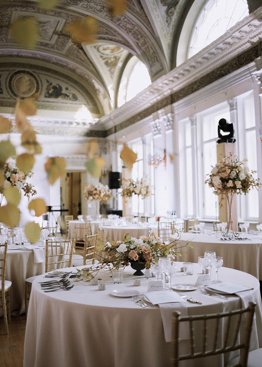 Golden Breath of Nature: свадьба в сердце Петербурга