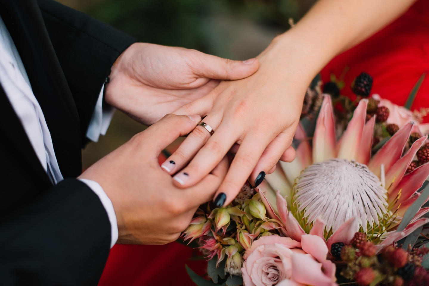 В зачарованном лесу: волшебная свадьба как из сказки