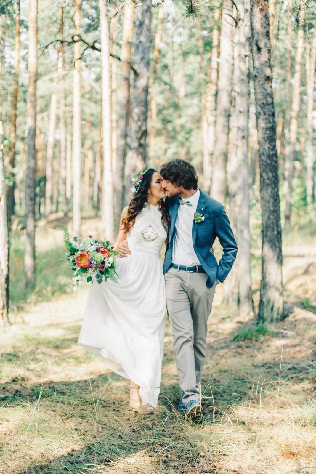 Невеста в стиле «бохо»: 25 прекрасных образов