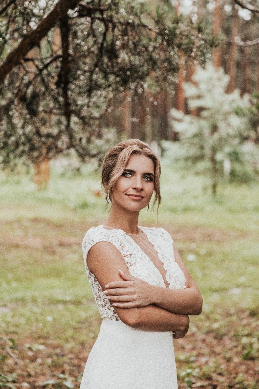 Дождливое лето: свадьба в загородном доме