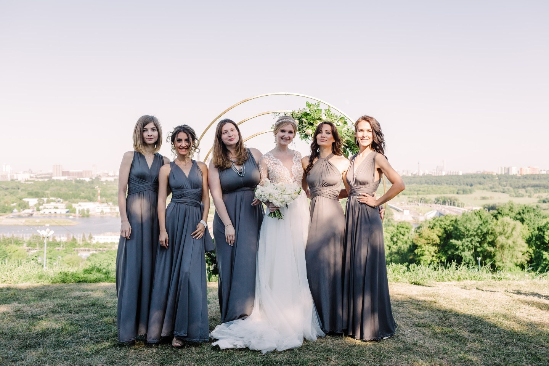 По зову сердца: классическая свадьба с веселым характером