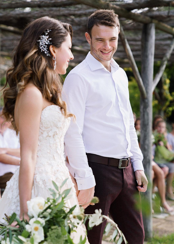 Modern Rustic: свадьба на вилле в Тоскане