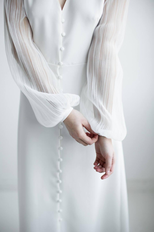 Тонкие линии: стилизованная фотосессия