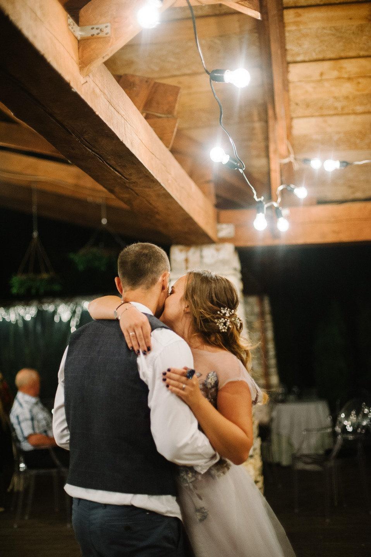 Камерная свадьба в стиле рустик