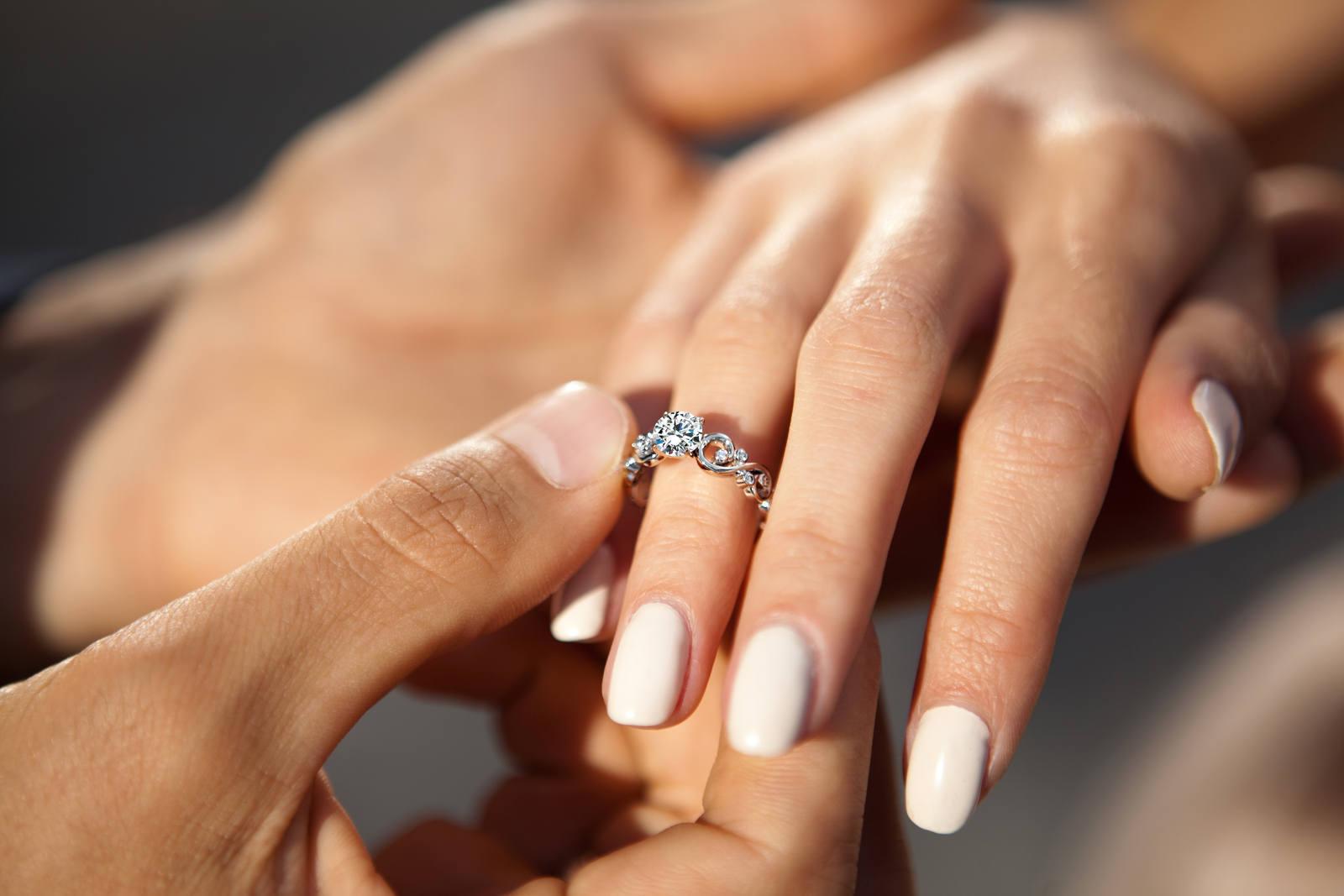 красивые кольца для предложения фото контроль качеством готовой