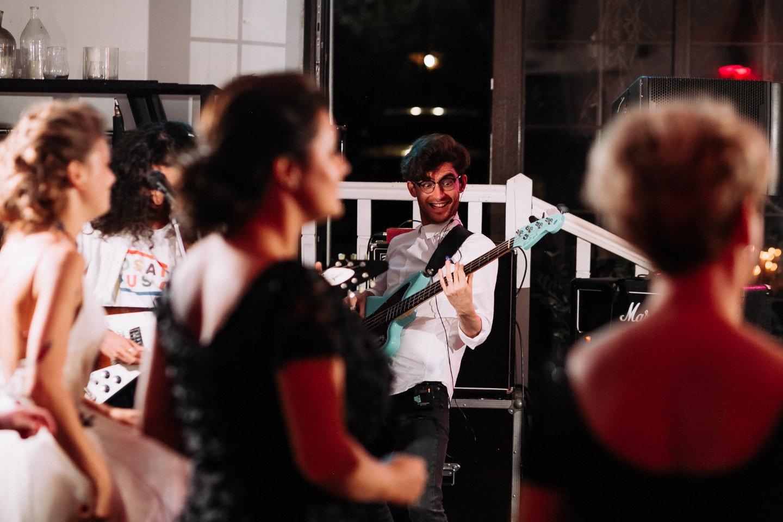 Let's Party: свадебная вечеринка в стиле рок-н-ролл