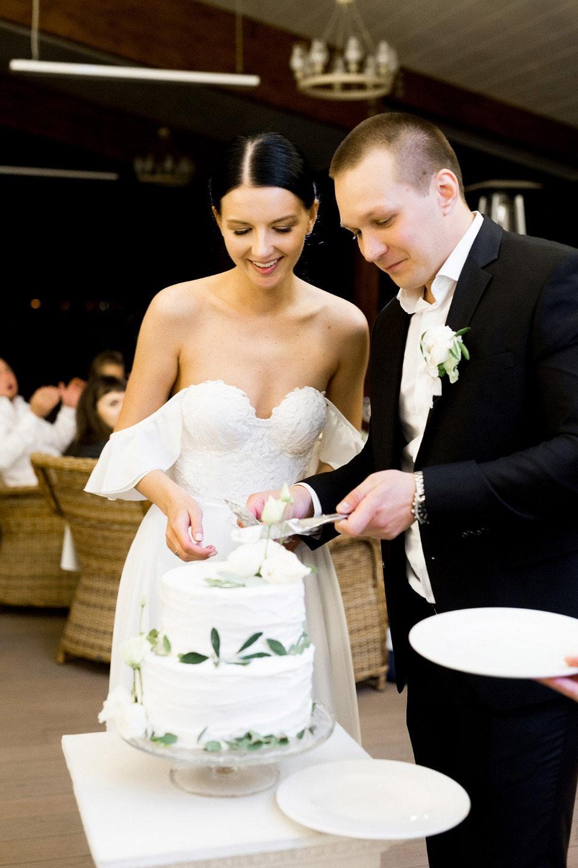 Black & White: свадьба с минималистичным декором