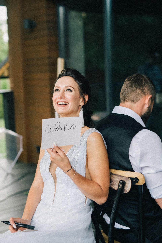 Mr&Mrs Bond: стильная чёрно-белая свадьба
