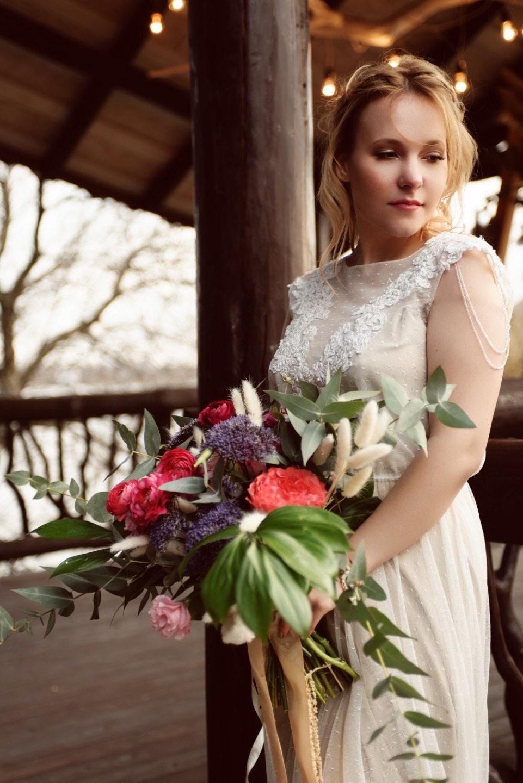 Wind Of Change: весенняя бохо-свадьба