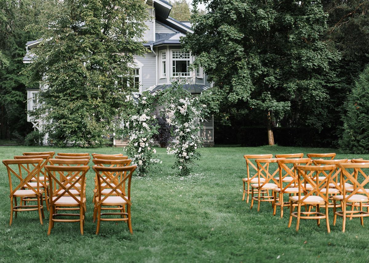 Утонченная красота: свадьба на берегу Финского залива