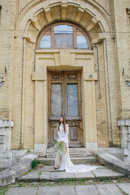 Естественная красота: стилизованная фотосессия невесты