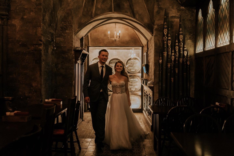 «Поехали!»: свадьба в космической тематике