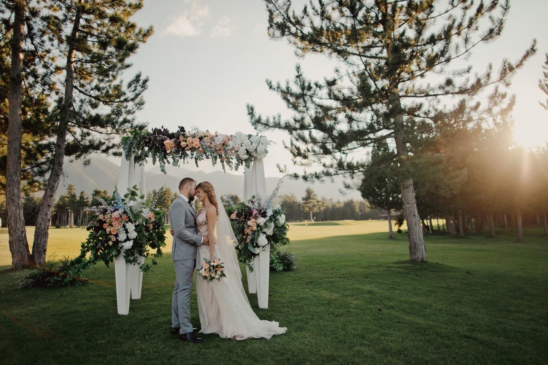 «Влюбленные, в горы!»: свадьба в Болгарии