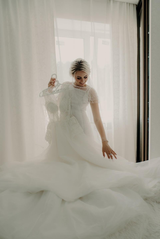 Любви связующая нить: уютная свадьба с хенд-мейд декором