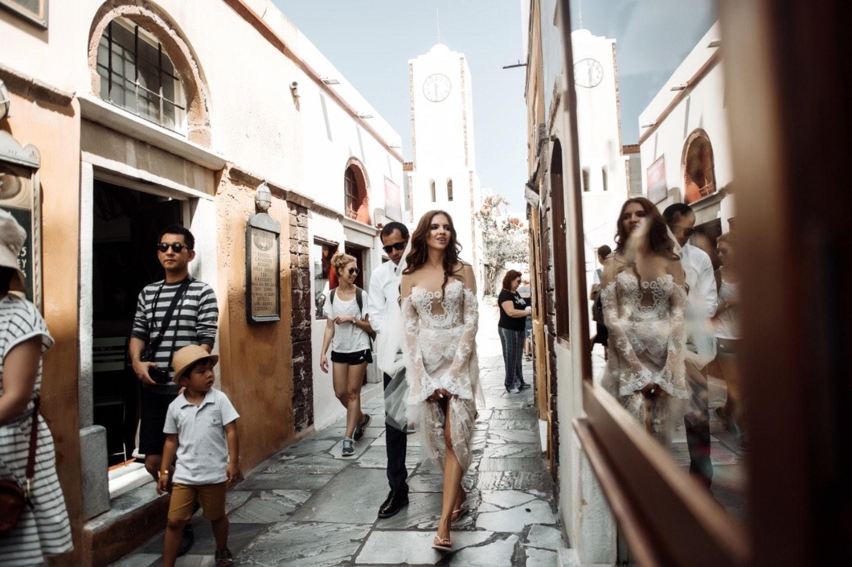 Наш греческий рай: свадьба на Санторини