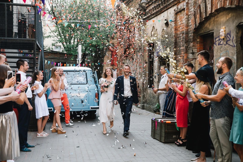 Молодежная свадьба в стиле casual