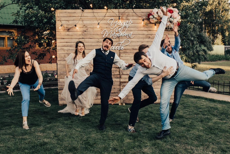 Душевная свадьба под открытым небом