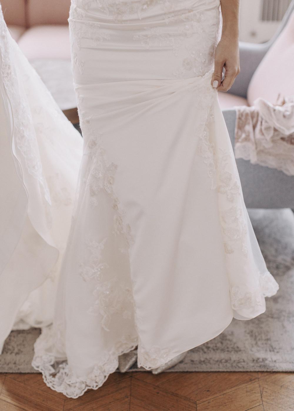 Элегантная свадьба в серебристо-лиловой палитре