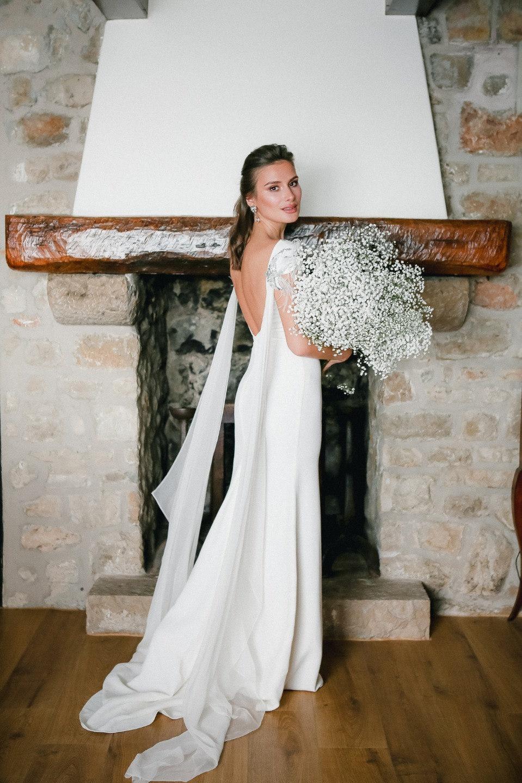 Французская элегантность: стильная свадьба для двоих