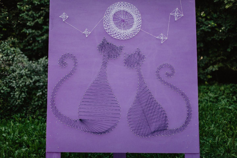 На сиреневой луне: тематическая свадьба в фиолетовом цвете