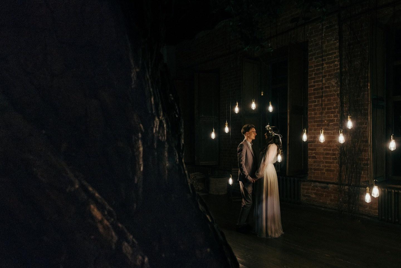 Лесная свадьба: стилизованная фотосессия