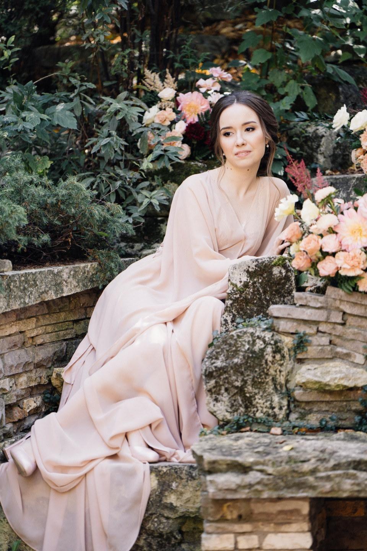 Романтичная и нежная свадьба в садовом стиле