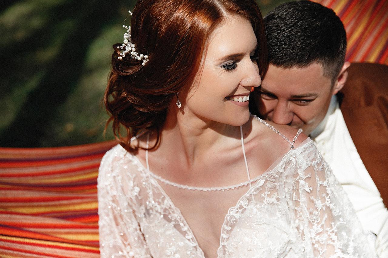 Свадьба в формате фуршета с вечерней церемонией