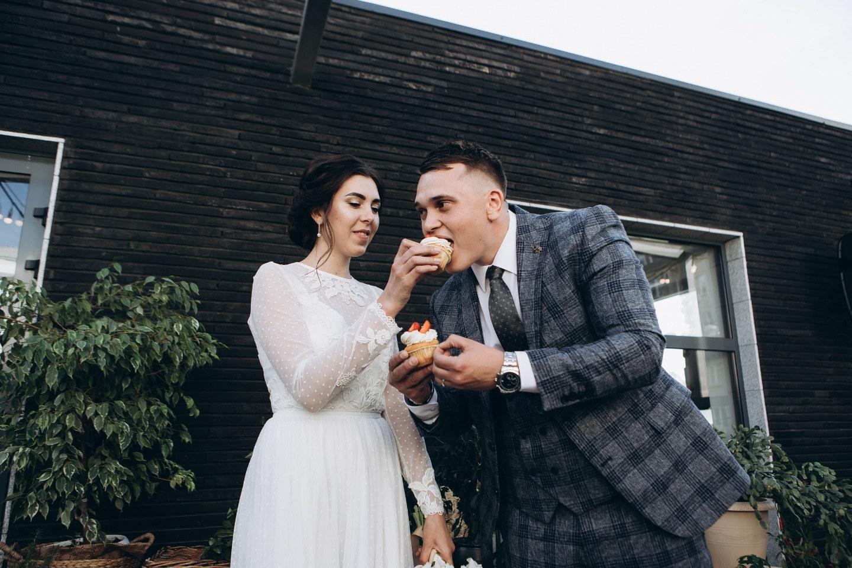 Уютная свадьба в лофте