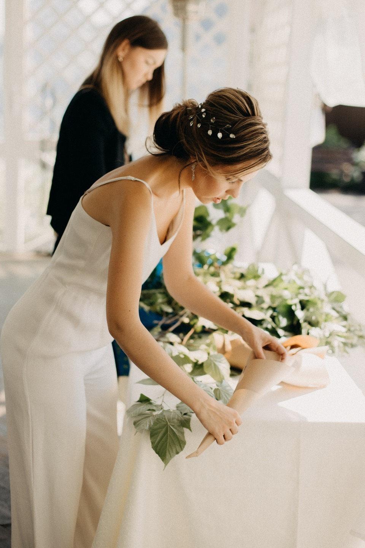 Рустикальная свадьба за городом своими руками