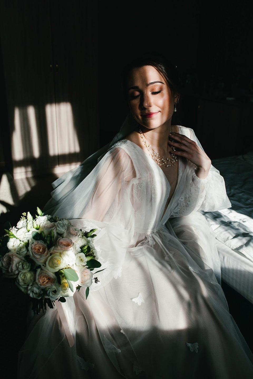 Весна в городе: уютная свадьба в лофте