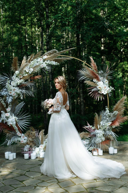 «Верь в нас»: романтичная свадьба в Санкт-Петербурге