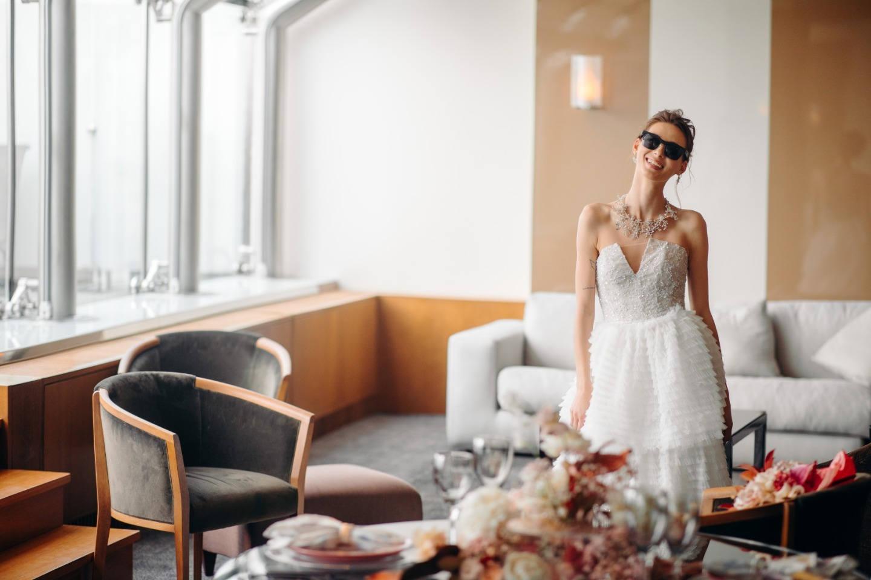 Территория невесты: утро в стиле fashion