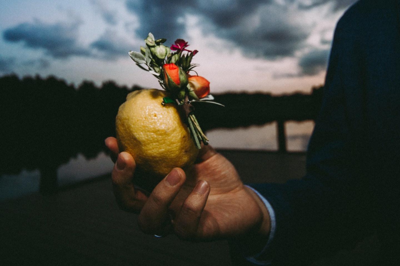«Португальская» свадьба в яркой палитре